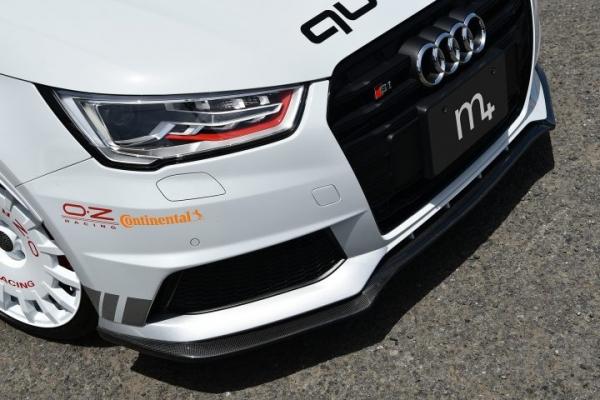 Audi A1 アウディ A1 | フロントリップ【エムプラス】S1/S1 Sportback(8X) フロント リップ スポイラー(カーボン)