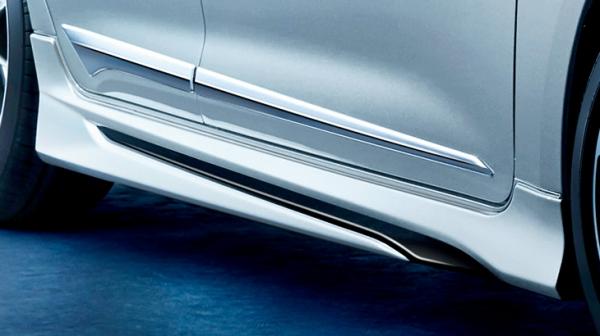 E21# カローラスポーツ | サイドステップ【トヨタモデリスタ】カローラスポーツ 210系 MODELLISTA サイドスカート アティチュードブラックマイカ
