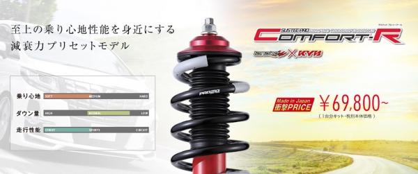 RP ステップワゴン | サスペンションキット / (車高調整式)【タナベ】ステップワゴン/スパーダ RP1/RP3 車高調キット SUSTEC PRO CR