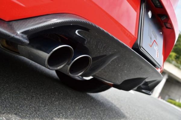 VW GOLF VI   リアアンダー / ディフューザー【エムプラス】Polo GTI 6C リアディフューザー (カーボン)