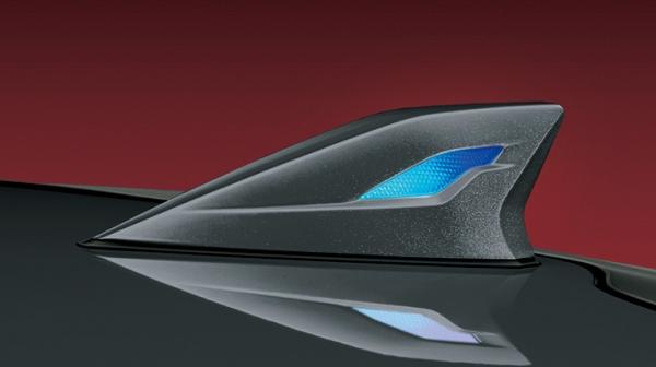 50 プリウス | アンテナ【トヨタモデリスタ】プリウス 50系 後期 LEDトップノットアンテナ T-Connect SD ナビ・オーディオ 装着車 素地