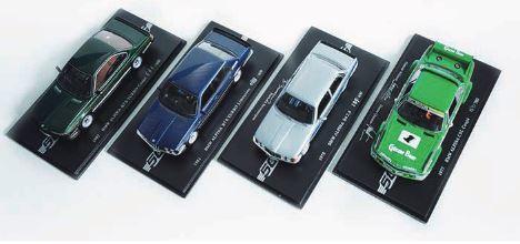 汎用   その他【アルピナ】ALPINA ミニチュアカー BMW ALPINA4台セット