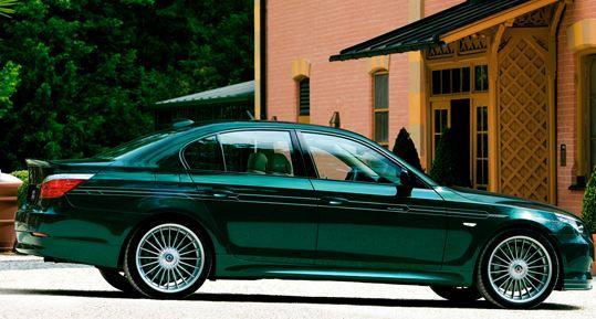 BMW 5 Series E60/E61 | ステッカー【アルピナ】BMW 5Series E60/E61 ALPINA デコセット No.4 (フロントスポイラー用) 各色 各モデル