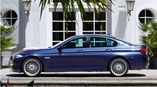 BMW 5 series F10/F11 | ステッカー【アルピナ】BMW 5Series F10/F11 LCI ALPINA デコセット No.1 ゴールド (1台分)