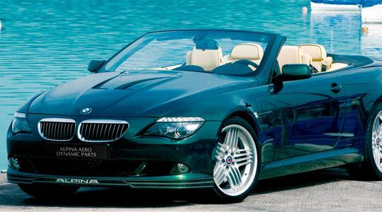 BMW 6 Series E63/64 | ステッカー【アルピナ】BMW 6Series E63/E64 ALPINA デコセット No.1 (1台分) 各色 各モデル