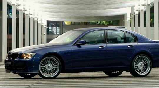 BMW 7 Series E65/66 | ステッカー【アルピナ】BMW 7Series E65/E66 ALPINA デコセット No.1 (1台分) 各色 各モデル