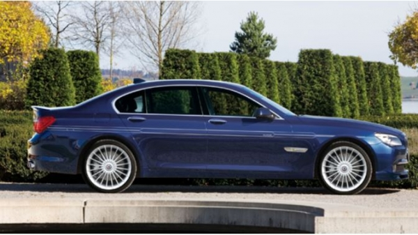 BMW 7 Series F01/F02 | ステッカー【アルピナ】BMW 7Series F01/F02 ALPINA デコセット No.1 ゴールド F01/02LCI (1台分)(7/'12~)