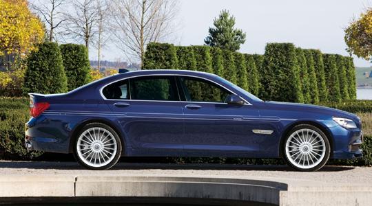 BMW 7 Series F01/F02   ステッカー【アルピナ】BMW 7Series F01/F02 ALPINA デコセット No.4 シルバー F01/02LCI (フロントスポイラー用)(7/'12~)