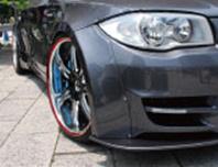 BMW 1 Series E87   フロントフェンダー / (交換タイプ)【アップルオート】E87 フロントオーバーフェンダーキット (6ピース)
