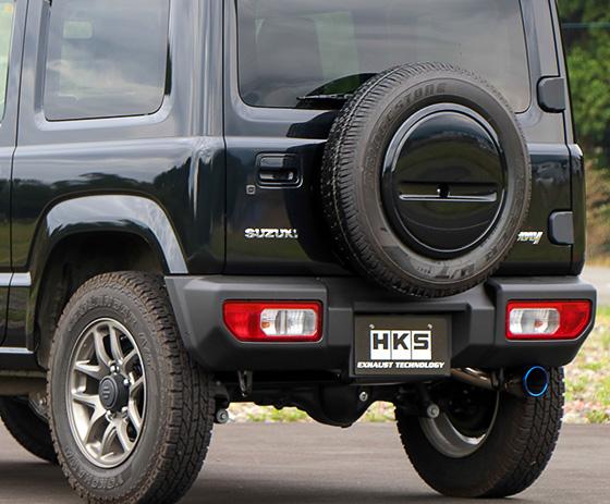 ジムニー JB64 | ステンマフラー【エッチケーエス】新型ジムニー JB64W HKS Super Turbo Muffler