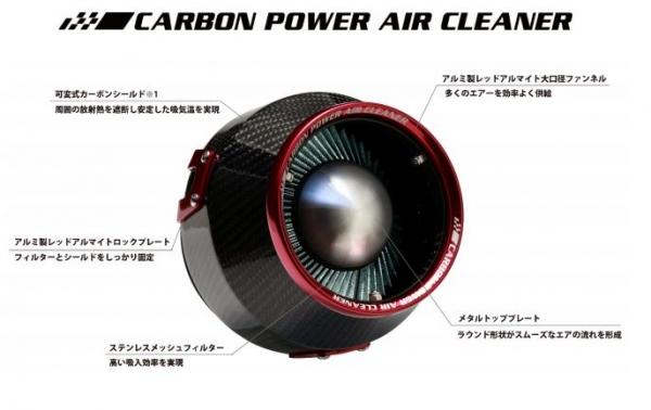C-HR | エアクリーナー キット【ブリッツ】CHR ZYX10 HYBRID用 CARBON POWER
