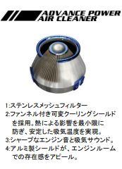 C-HR | エアクリーナー キット【ブリッツ】CHR NGX10 Turbo用 ADVANCE POWER