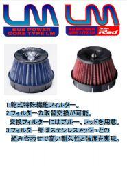 C-HR | エアクリーナー キット【ブリッツ】CHR NGX10 Turbo用 SUS POWER LM Red
