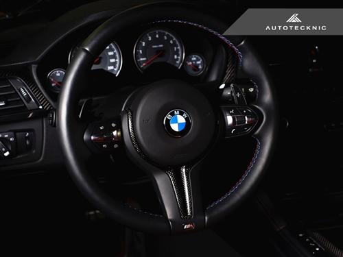 BMW M4 F82   インテリアパネル【エニーズ・インターナショナル】BMW F82 M4 カーボン・ステアリングトリム