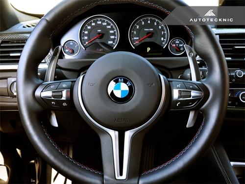 BMW 3 Series F30/F31/F34 | ステアリングシフター【エニーズ・インターナショナル】BMW 3Series F30/F31 M-SPORT Mコンペティション・シフトパドル シルバーアロイ