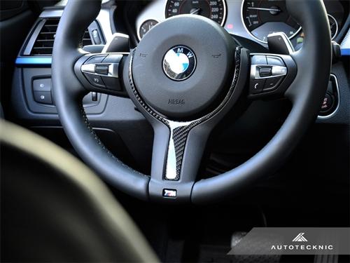 BMW 3 Series F30/F31/F34 | インテリアパネル【エニーズ・インターナショナル】BMW 3Series F30/F31 M-SPORT Mスポーツ・カーボンステアリングトリム