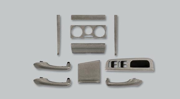 VW GOLF WAGON IV | インテリアパネル【アルピール】GOLF 4 Wagon Carbon Panel 10pieces