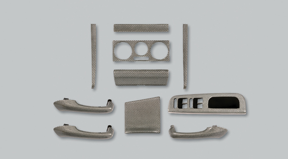 VW GOLF IV | インテリアパネル【アルピール】GOLF 4 Carbon Panel 10pieces
