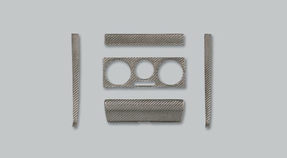 VW GOLF IV | インテリアパネル【アルピール】GOLF 4 Carbon Panel 5pieces
