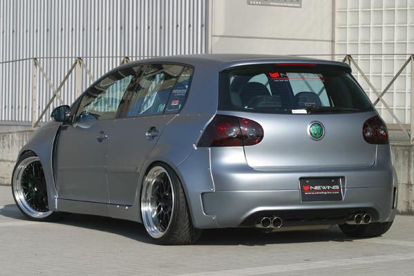 VW GOLF V | フェンダーキット【アルピール】GOLF V GTI-RSR ブリスターフェンダーキット