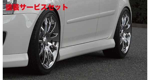 ★色番号塗装発送VW GOLF V | サイドステップ【アルピール】GOLF 5 GTI Side Step