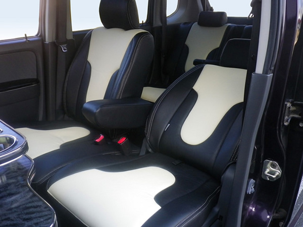 L675S ミラココア | シートカバー【ダティ】ミラ ココア L685S タイプ:X スペシャルコーデ (H24.04~) シートカバー DEP V-Line カラー:レッド