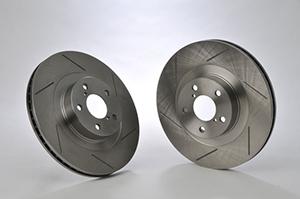 アルテッツア | ブレーキローター / フロント【アクレ】アルテッツア GXE10/SXE10 (15インチ車) ブレーキローター フロント 2枚セット スリットタイプ