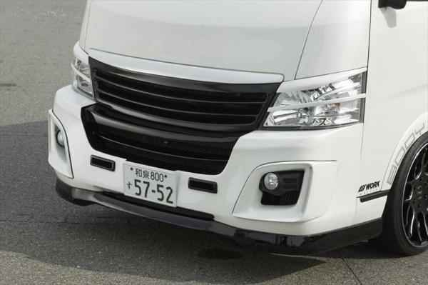【ボディライン】NV350キャラバン フルバンパ K モデル 未塗装