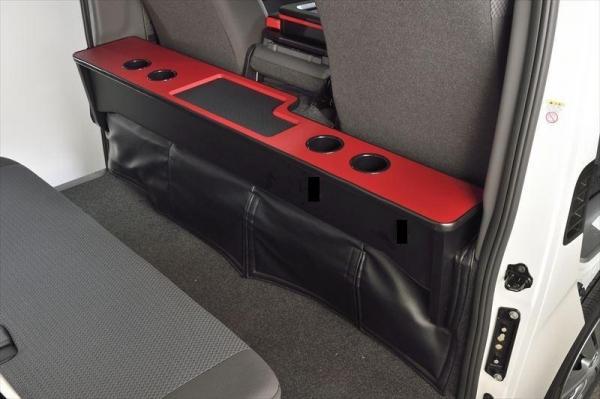【ボディライン】NV350キャラバン DX専用セカンドテーブル 天板カラー ブラック