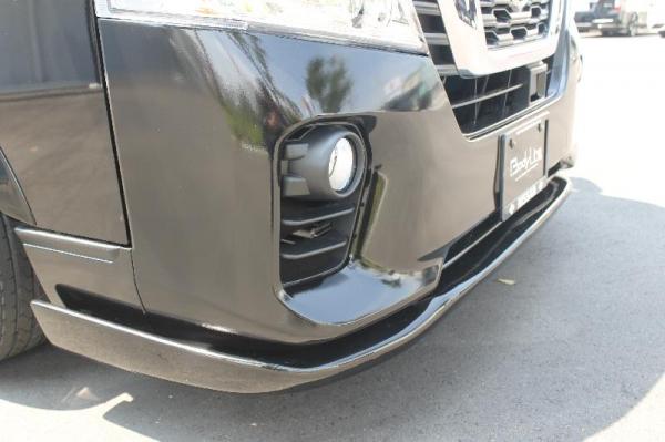 【ボディライン】NV350キャラバン フロントリップスポイラータイプ3 塗装済 ブリリアントホワイトパール(3P)(#QAB)