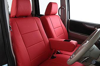 E21# カローラスポーツ   シートカバー【オートウェア】カローラスポーツ 210系 ハイブリット シートカバー モダン カラー:赤色