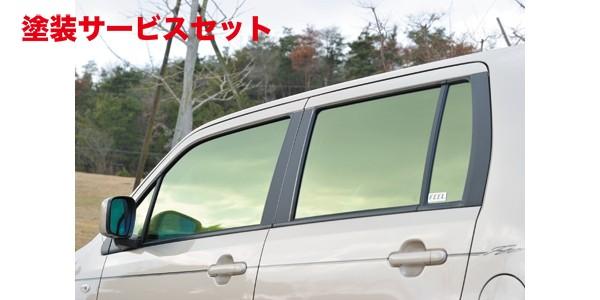 ★色番号塗装発送MH23 ワゴンR   ピラー【フィール】ワゴンR MH23S系 MODELLO カーボンピラー(5ピース左右セット) シルバー