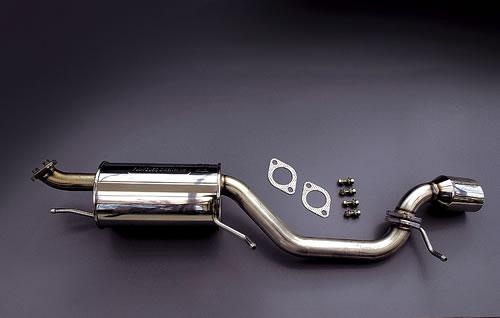 MF21S MRワゴン | ステンマフラー【フィール】MRワゴン MF21S (G/GL/Tターボ Grade) 後期 ハイクオリティアップマフラー(オールステンレス製) NA用