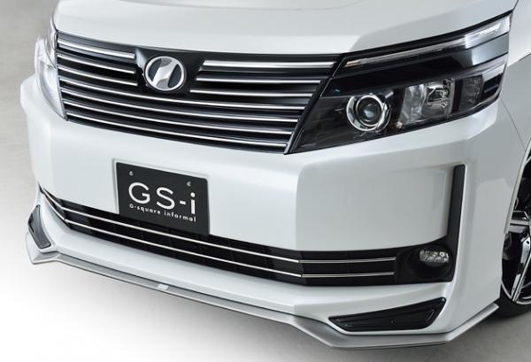 80/85 ヴォクシー VOXY | フロントリップ【ジーコーポレーション】ヴォクシー 80系 グレード:X/V GS-i フロントスポイラー 塗装済 ブラック<202>