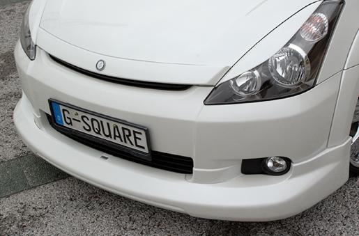 10 ウィッシュ   ボンネットリップ / フードトップモール【ジーコーポレーション】G-square WISH-2.0Z ANE 前期 フードトップモール(ブラインドコーナーモニター対応/ABS製)