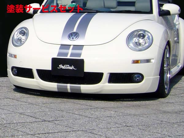 ★色番号塗装発送VW NEW BEETLE | フロントハーフ【フォブシュランク】ニュービートル Ragstyle フロントスポイラー