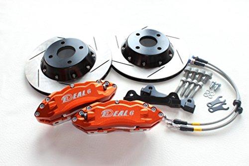 【イデアル】WARMUND(ヴァルムント) タント L350S/L360S K-Car ブレーキキットキャリパーカラー オレンジ 286mm -