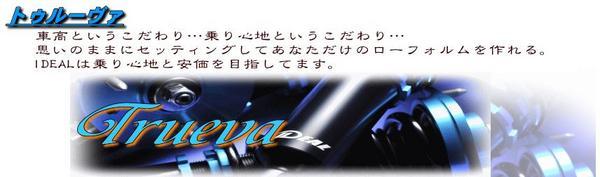 BENZ CLK W209(C209) | サスペンションキット / (車高調整式)【イデアル】BENZ CLK W209 Trueva 車高調キット 320