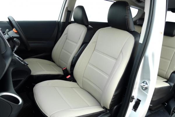 シエンタ 17#系 | シートカバー【オートウェア】シエンタ NHP/NSP 170系 シートカバー シエンタ 170系7人専用 モデル カラー:サンドグレー + ブラック