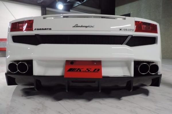 Gallardo | リアバンパー【ケーズボディ】Lamborghini Gallardo リアバンパースポイラー