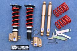 (車高調整式)【ケーシーテクニカ】スピアーノ / 5kg リア固定式 HF21S バネレート サスペンションキット | シャトルGTSサスキット スピアーノ