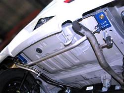 アルト HA36S/36V型   フロアサポートバー【ケーシーテクニカ】アルト HA36S/HA36V FF車 モノコックバー リア