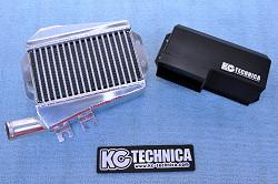 アルト HA36S/36V型 | インタークーラー【ケーシーテクニカ】アルト(HA36S)ターボRS 大容量インタークーラー ダクトカラー ブラック