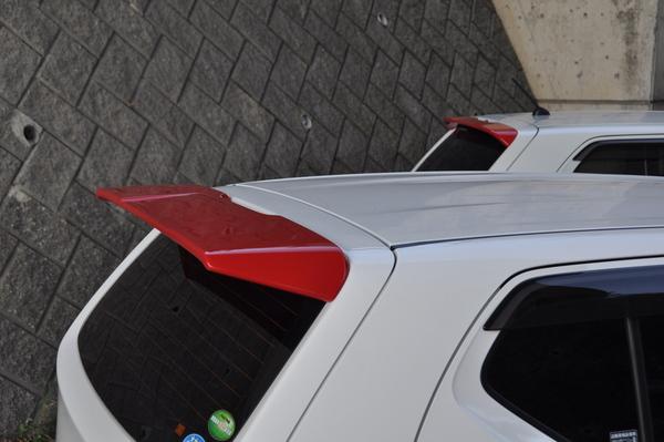 アルト HA36S/36V型 | リアウイング / リアスポイラー【ケーシーテクニカ】アルト(HA36S、HA36V、RSターボ) RSスポイラー(ルーフスポイラー) FRP (未塗装)