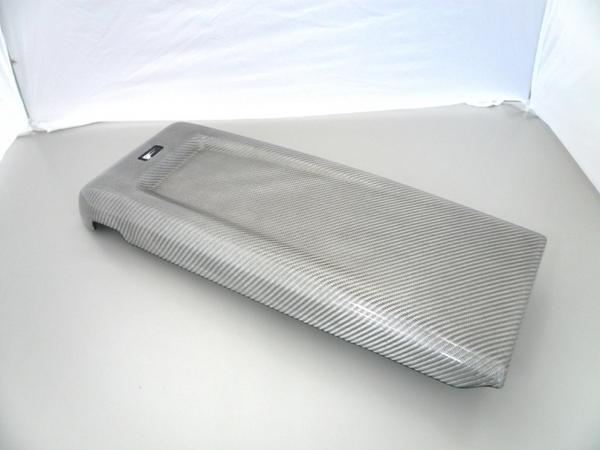 レクサス IS F | 内装パーツ / その他【レムス】Lexus IS-F リア席カーボンコンソール 08- モデル シルバーカーボンモデル