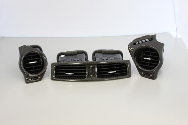 レクサス IS F | 内装パーツ / その他【レムス】Lexus IS-F エアコン吹き出し口3点セット 09年モデル~ ブラックカーボン