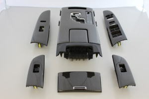 レクサス IS F | インテリアパネル【レムス】Lexus IS-F 09年~ ブラックカーボンコンバージョンキット シートヒーター無しモデル