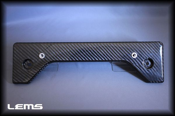 レクサス IS F | ナンバーベース【レムス】Lexus IS-F ドライカーボンナンバーベース (クリア塗装済)