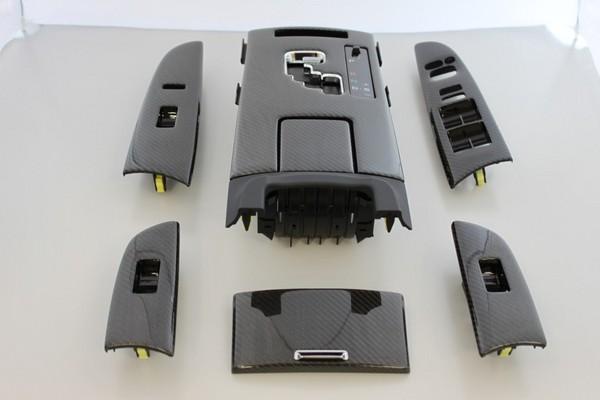 LEXUS IS 20   インテリアパネル【レムス】Lexus IS ブラックカーボンコンバージョンキット 09- シートヒーター無し
