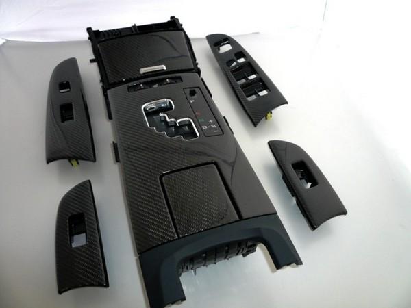 LEXUS IS 20   インテリアパネル【レムス】Lexus IS ブラックカーボンコンバージョンキット 05-08 シートヒーター無し